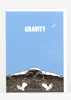 Nikki McClure Card Gravity