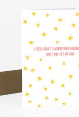 Power and Light Press Card Understand Parenthood