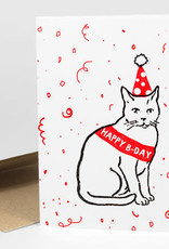 Power and Light Press Card Party Cat