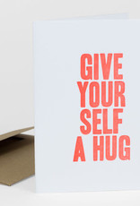 Power and Light Press Card Give Yourself a Hug