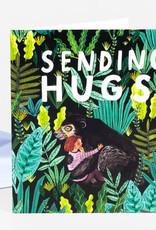 Papio Press Card Sending Hugs
