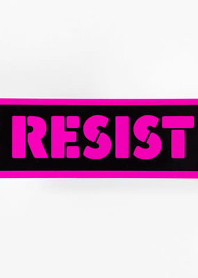 Notes To Self Sticker Resist