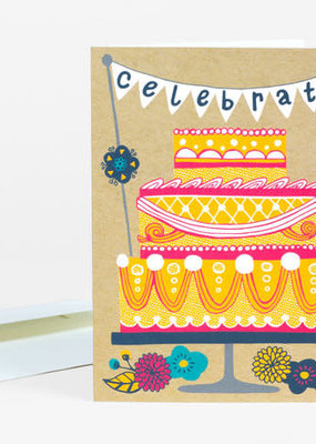 Alison Cole Card Celebrate Cake