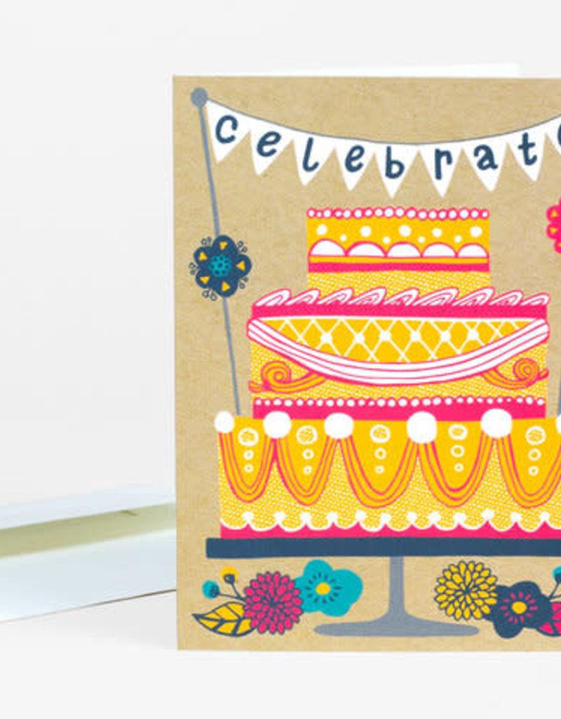 Alison Cole Card Celebrate Cake