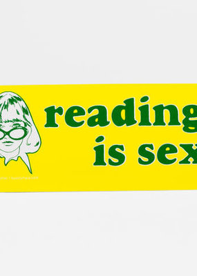 Bumper Sticker Reading is Sexy