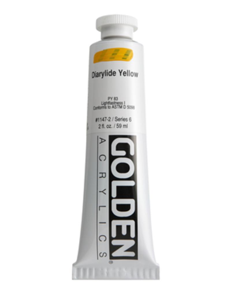 Golden Golden Heavy Body Acrylic 2 Oz.