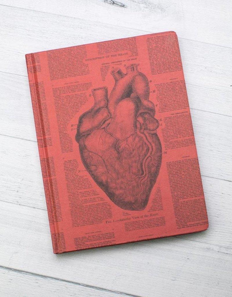 Cognitive Surplus Hypothesis Hardcover Dot Grid Anatomical Heart