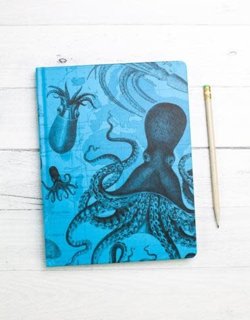 Cognitive Surplus Hypothesis Hardcover Dot Grid Cephalopod