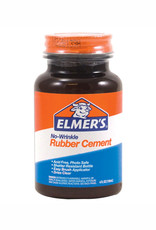 Elmer's Elmer's No Wrinkle Rubber Cement 4 Ounce