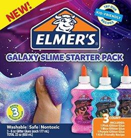 Elmer's Elmer's Glitter Glue Galaxy Slime Starter Pack