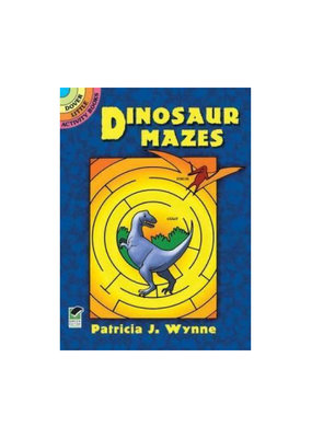 Dover Dinosaur Mazes