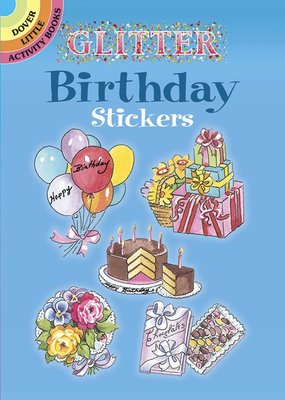 Dover Dover Glitter Sticker Books
