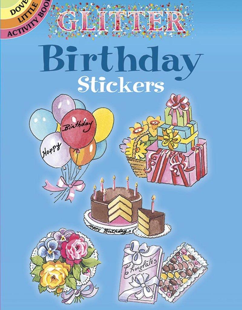 Dover Dover Glitter Sticker Books