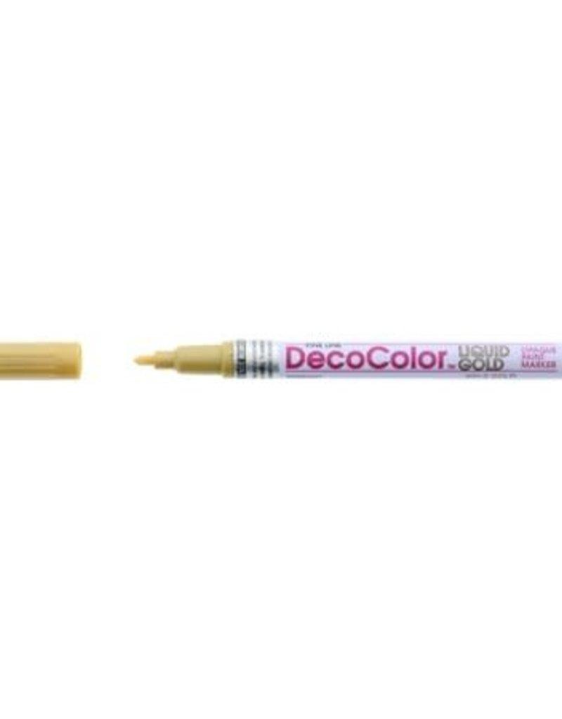 Marvy-Uchida DecoColor Premium Paint Markers Gold