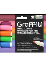 Marvy-Uchida Fabric Marker Uchida Graffiti Set Floral