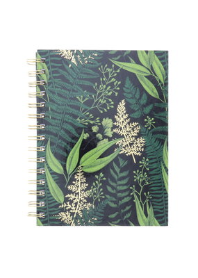 Art Alternatives Limited Edition Fashion Journals Lined Gold Garden Black