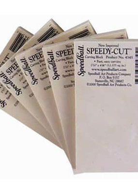 Speedball Speedy Cut Block 2.75 x 4