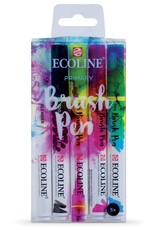 Ecoline Ecoline Brush Pen 5-Pen Primary Set
