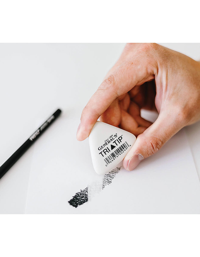 General Pencil Eraser Tri-Tip