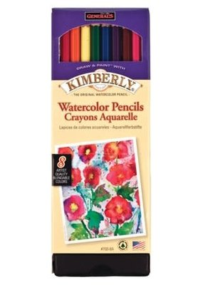 General Pencil Kimberly Watercolor Pencils set of 8