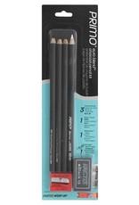 General Pencil Charcoal Pencils 4 Pack