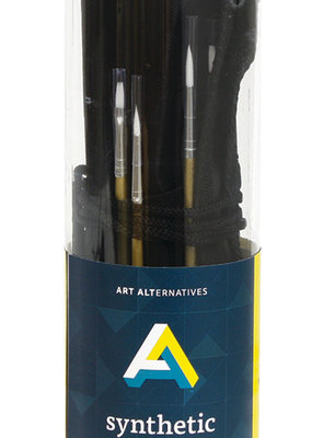 Art Alternatives Synthetic Brush Value Pack