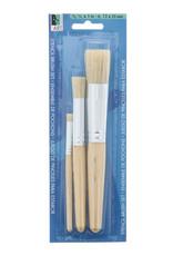 Art Alternatives Stencil Brushes 3 Brush Set