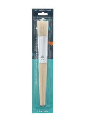 Art Alternatives Stencil Brush 1 Inch