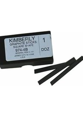 General Pencil Kimberly Graphite Sticks 4B
