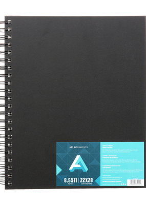 Art Alternatives Sketch Book Spiral Bound 8.5 X 11