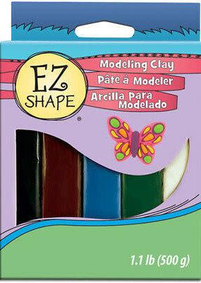 Sculpey EZ Shape Modeling Clay Set Natural 5pc