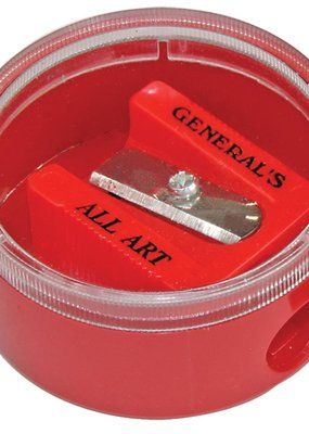 General Pencil Little Red All Art Sharpener with Canister