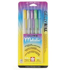 Sakura Gelly Roll Metallic 5 Color Set