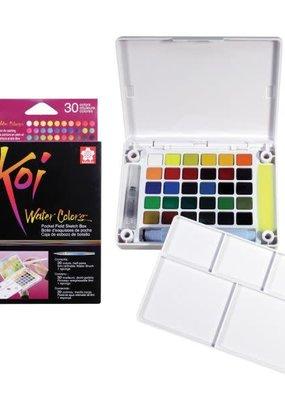 Sakura Koi Watercolor Pocket Field Box 30 colors