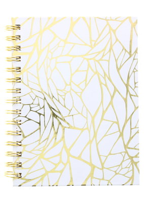 Art Alternatives Limited Edition Fashion Journals Dot Grid Gold Web