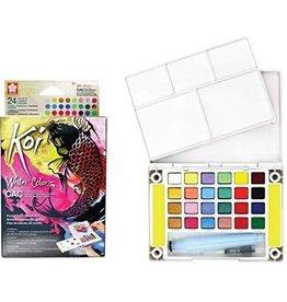 Sakura Koi Creative Art Color Watercolor 24 Color Set