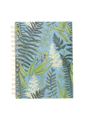 Art Alternatives Limited Edition Fashion Journals Dot Grid Gold Garden Blue