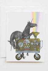 Le Canot Rouge Card Ruby Jezebel & Jackpot Flame Unicorn A2