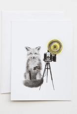 Le Canot Rouge Card Quinn Bancroft Red Fox A2