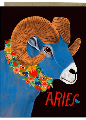 Lisa Congdon Card Aries