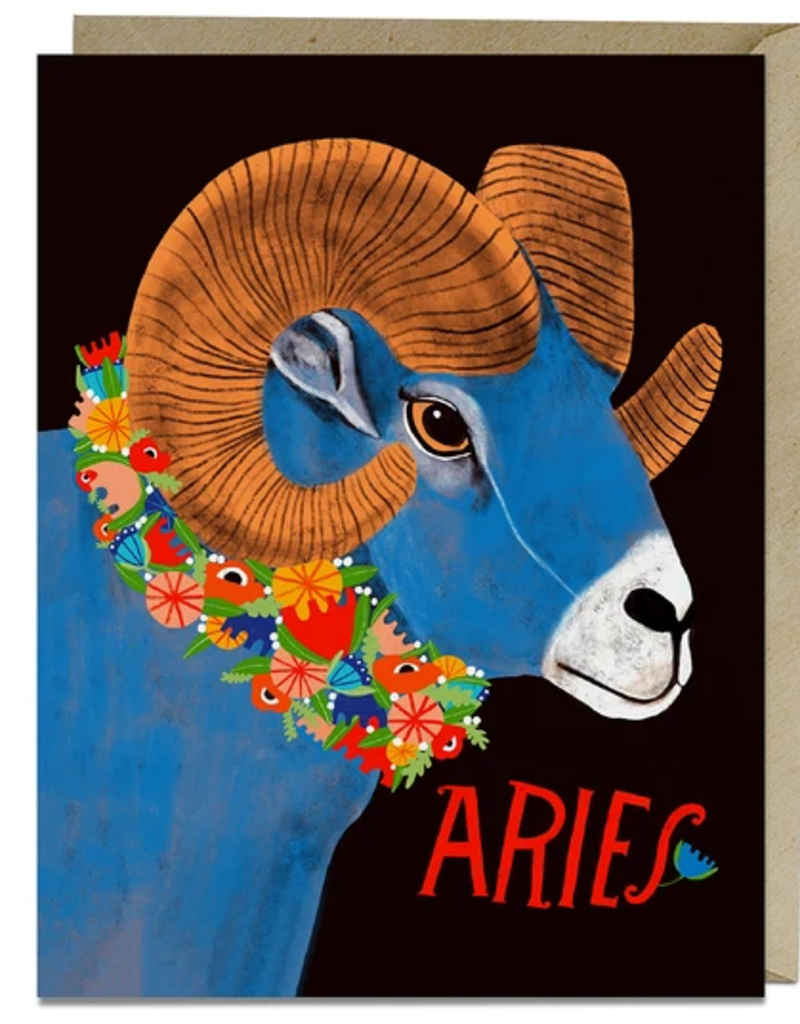 Lisa Congdon Card Aries