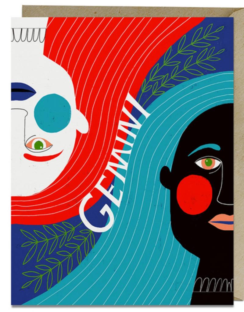 Lisa Congdon Card Gemini
