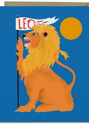 Lisa Congdon Card Leo