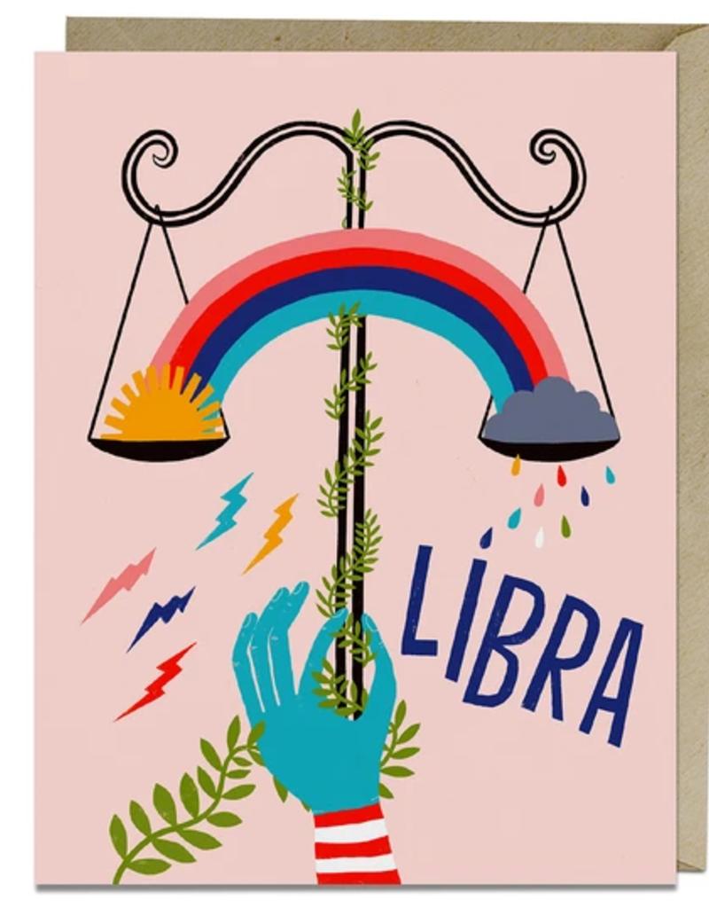 Lisa Congdon Card Libra