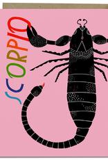 Lisa Congdon Card Scorpio
