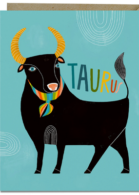Lisa Congdon Card Taurus