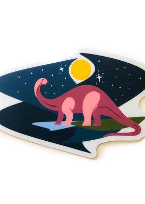 Stickers NW Sticker Brontosaurus 2.0