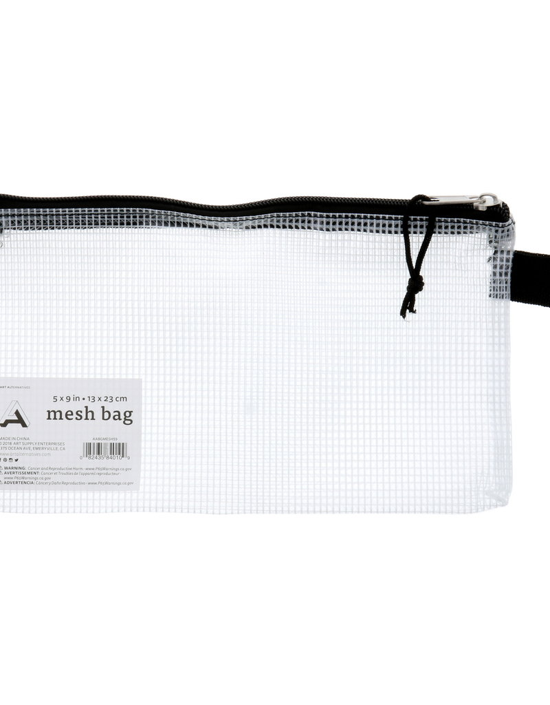Art Alternatives Bag Mesh White 5 X 9