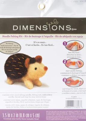 Dimensions Needle Felting Kit Hedgehog