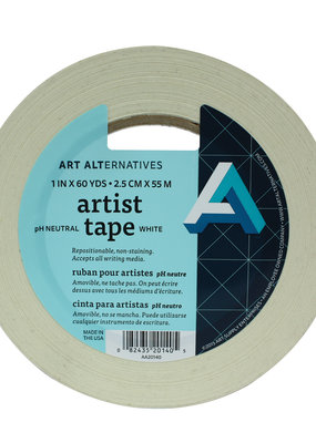Art Alternatives Artist Tape 1 Inch 60 Yards